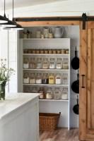 35 Creative Farmhouse Kitchen Storage Organizing Ideas ...