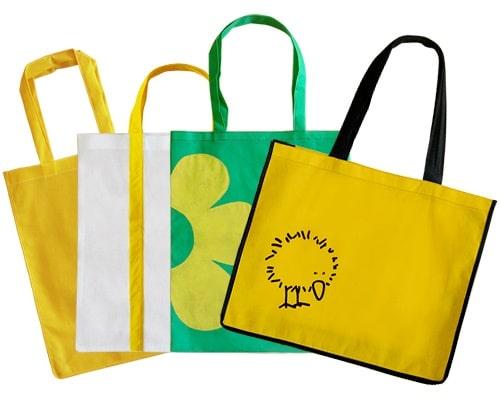сумки цветные с логотипом под заказ