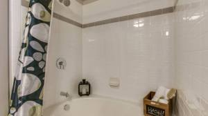 Bathtub Shower at Routh Street Flats Apartments in Dallas TX Lux Locators Dallas Apartment Locators