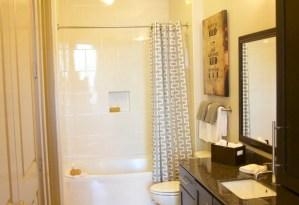 Bathtub at Alara Uptown Apartments in Uptown Dallas TX Lux Locators Dallas Apartment Locators