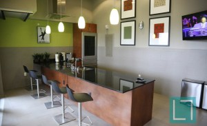 Community Kitchen at Gallery at Turtle Creek Apartments in Uptown Dallas TX Lux Locators Dallas Apartment Locators