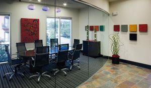 Conference Room at 2929 Wycliff Apartments in Uptown Dallas TX Lux Locators Dallas Apartment Locators