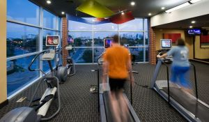 Fitness Room at 2929 Wycliff Apartments in Uptown Dallas TX Lux Locators Dallas Apartment Locators