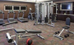 Fitness Room at McKinney Uptown Apartments in Uptown Dallas TX Lux Locators Dallas Apartment Locators
