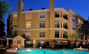 Outside View at Riviera at West Villiage Apartments in Uptown Dallas TX Lux Locators Dallas Apartment Locators