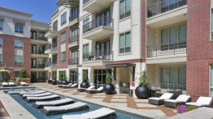 Pool Lounge at Alara Uptown Apartments in Uptown Dallas TX Lux Locators Dallas Apartment Locators