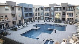 Pool at Berkshire Medical District Apartments in Uptown Dallas TX Lux Locators Dallas Apartment Locators