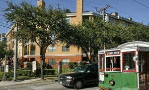 Street View at Riviera at West Villiage Apartments in Uptown Dallas TX Lux Locators Dallas Apartment Locators