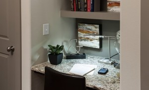 Study at McKinney Uptown Apartments in Uptown Dallas TX Lux Locators Dallas Apartment Locators