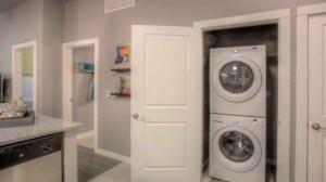 Washer Dryer at Moda Victory Park Apartments in Uptown Dallas TX Lux Locators Dallas Apartment Locators