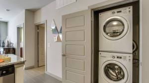 Washer Dryer at Routh Street Flats Apartments in Dallas TX Lux Locators Dallas Apartment Locators