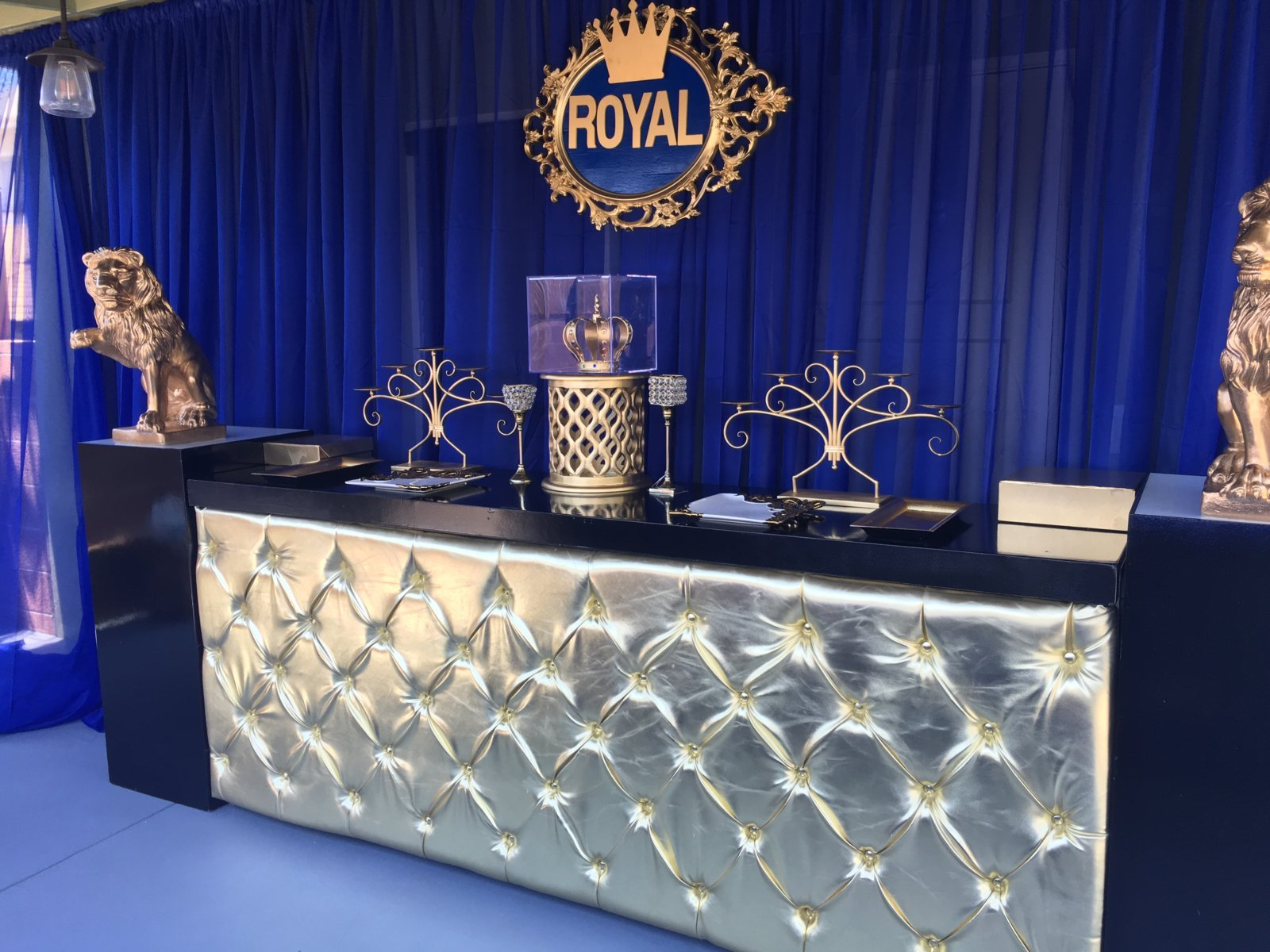 Royal Prince theme party June 2016  Lux Lounge EFR 888