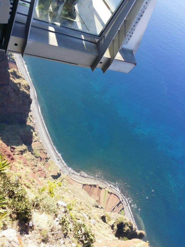 Cabo Girao sea cliff on Madeira West Tour