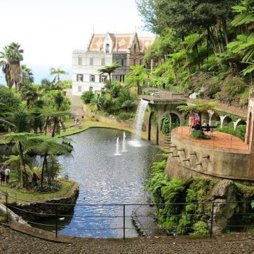Monte Palace Garden Tour in Madeira and Madeira Wine taste.