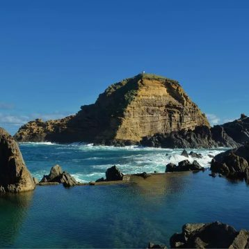 Porto Moniz Natural Pool on Madeira West tour