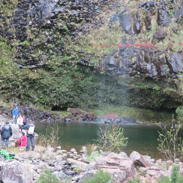 Lakes of Madeira. 25 Fountains Walk is one of the famous walks around the world.