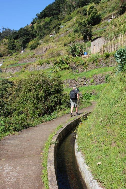One of Portugal tourist attractions are levada walks in Madeira