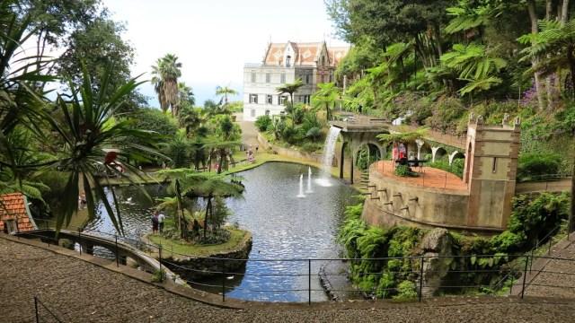 monte palace gardens in madeira island