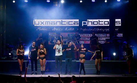 Luxmantica Photos con Vulkano Show
