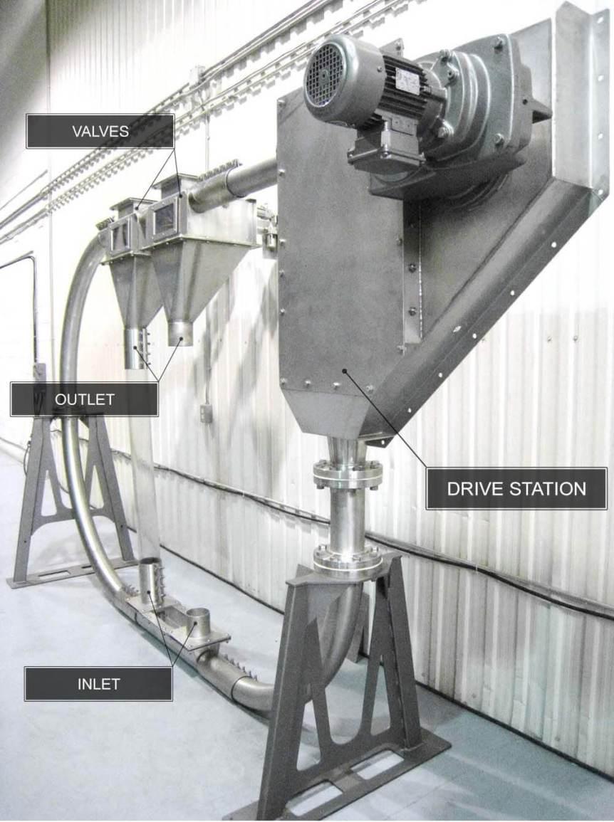 Tubular Drag Chain Conveyor
