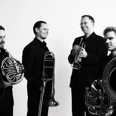 Helsinki Brass Quartet artist photo