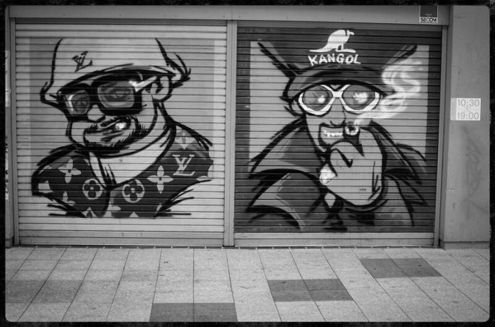 Local Graffiti in Sapporo