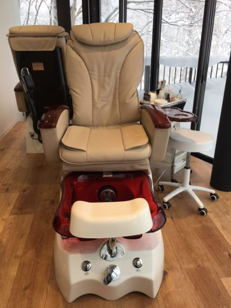 Niseko Spa Massage Chair View on LuxNiseko Alpine Luxury Lifestyle Magazine