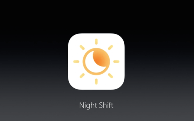 apple night shift