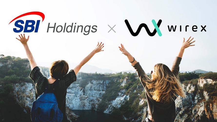 SBIが仮想通貨決済に本腰!Wirex(ワイレックス)との合弁会社設立!