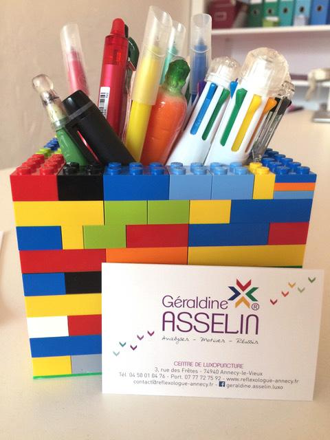 Géraldine Asselin luxopuncture - visit cards