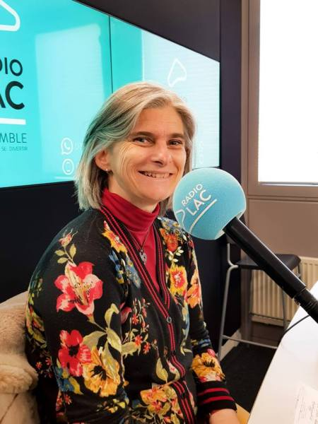 Géraldine Asselin à Radio Lac
