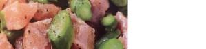 Tarte de saumon aux asperges