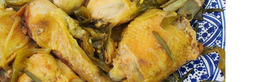 Recette de cuisine de Géraldine Asselin : Poulet à l'estragon