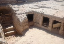 Photo of Ptolemaic rock-cut tombs discovered in Alexandria