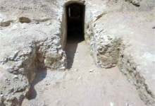 Photo of Rock-cut Tomb in a 4000-year-old Elite Cemetery Discovered