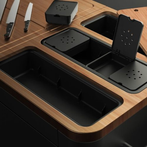 Everdure Kitchen Prep Table Top Food Compartments