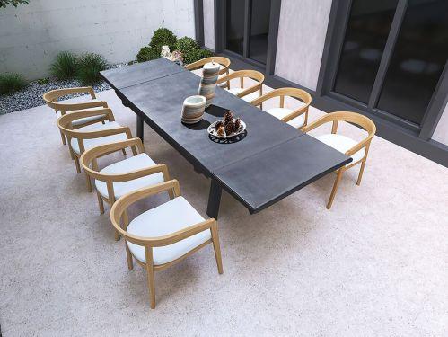 westminster ocean 240 extending dining table 2