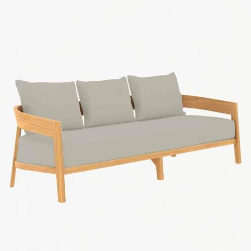 Churchill 3str Sofa Teak Stone
