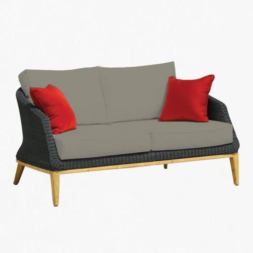 Grace 2str sofa ebony stone