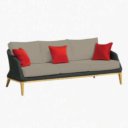 Grace 3str sofa ebony stone