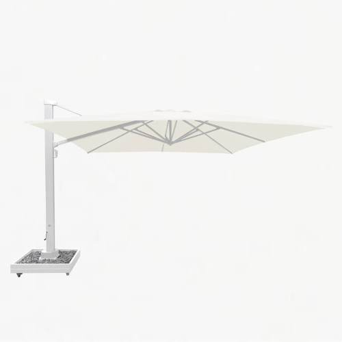 titan parasol white natural base