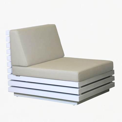 tomorrow middle sofa white stone
