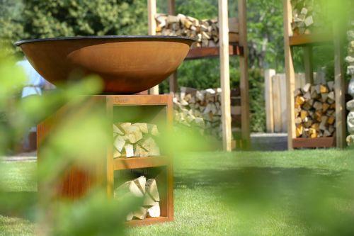 Quoco Piatto and Cremagliera garden