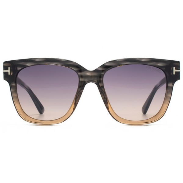 Tom Ford Tracy Sunglasses Ft0436 20b Grey Peach 54 X 18