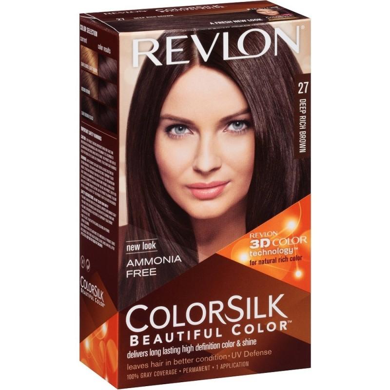 Revlon Colorsilk Permanent Haircolor 27 Deep Rich Brown 1