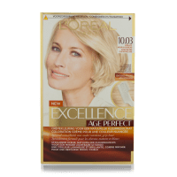 L'Oreal Excellence Age Perfect Hair Color 10.03 Very Light ...