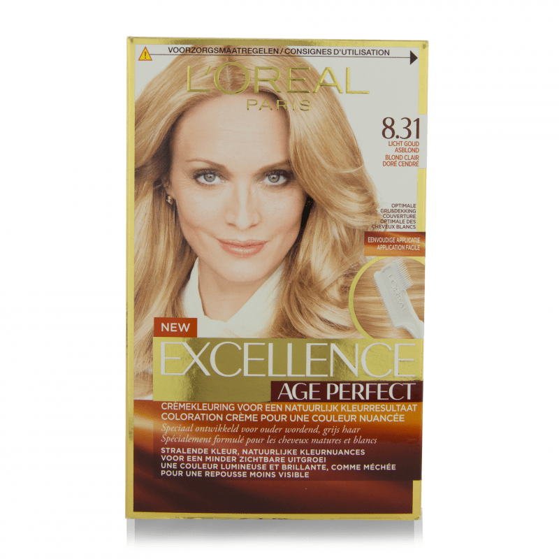 L'Oreal Excellence Age Perfect Hair Color 8.31 1 stk