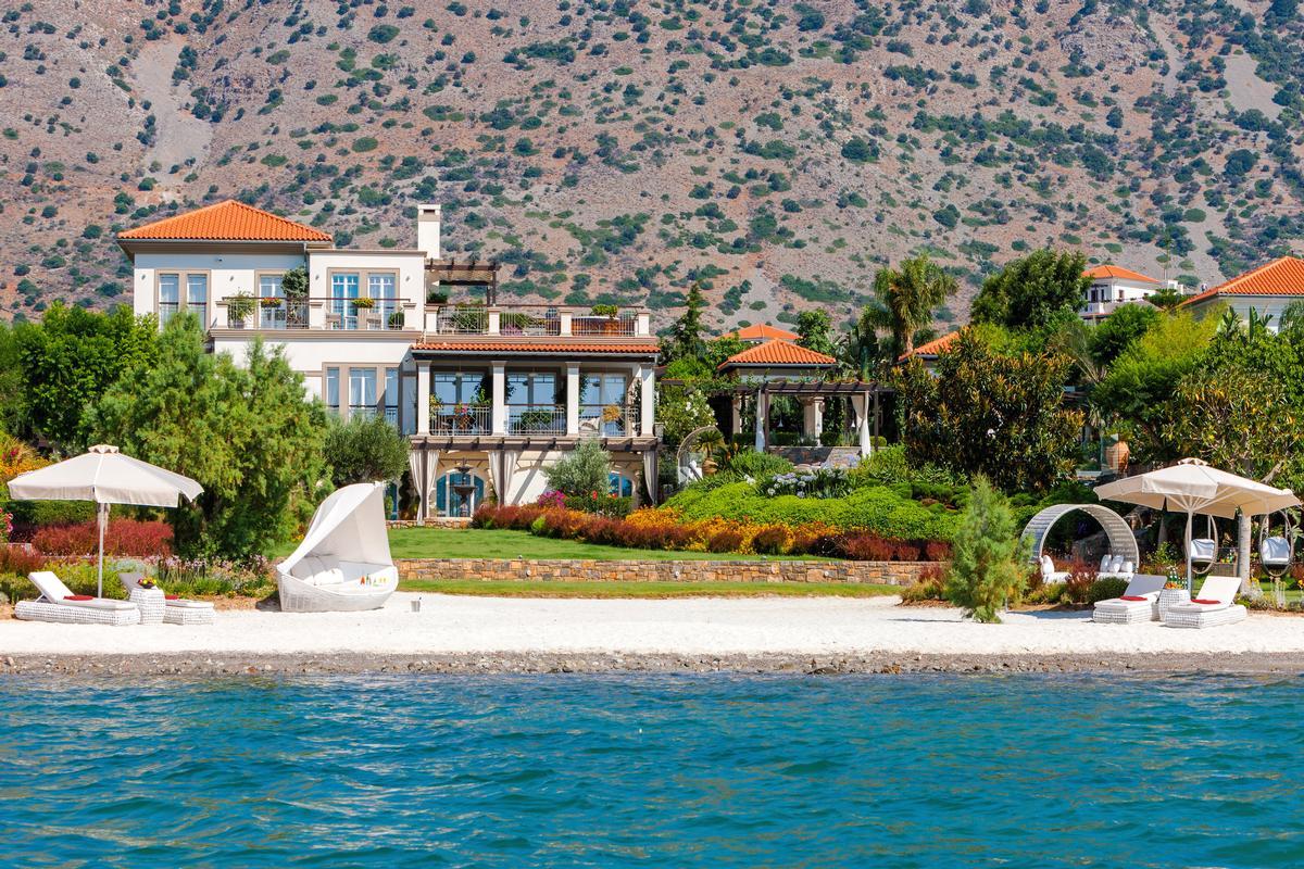 Luxury Beachfront Villa In Greece Greece Luxury Homes