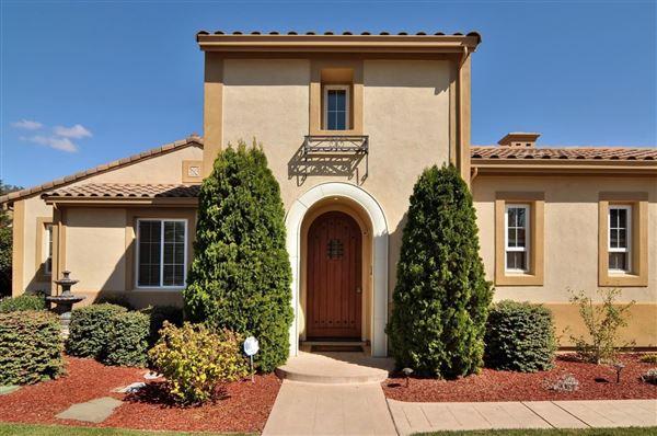 SINGLESTORY MEDITERRANEAN IN ALICANTE MORGAN HILL  California Luxury Homes  Mansions For Sale