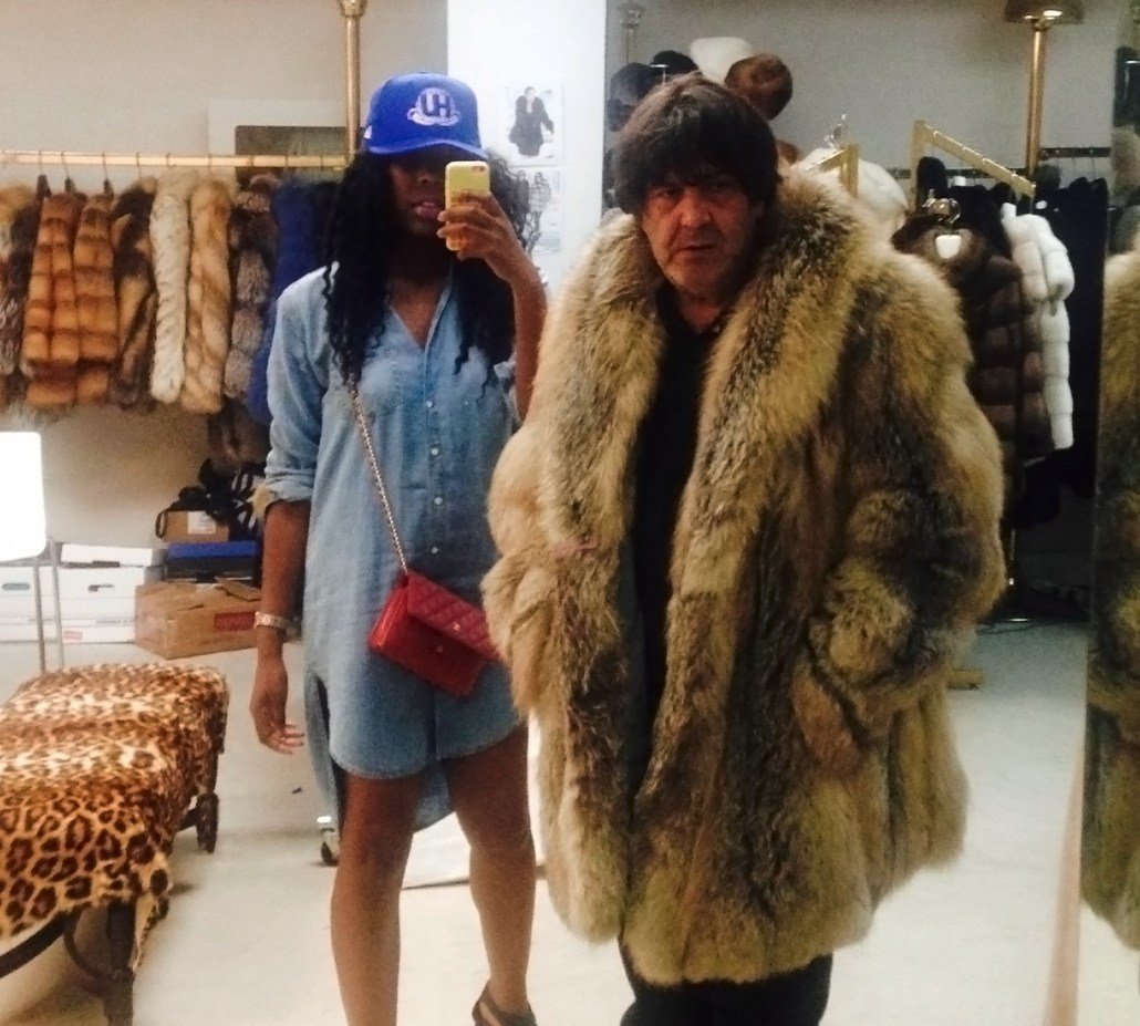 Me and Danny of Charisma Furs